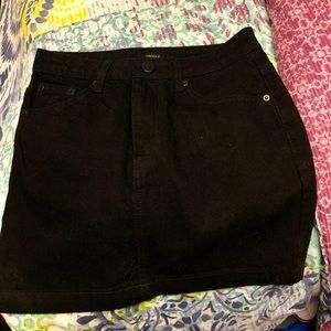 Black Forever 21 skirt. Never been worn!